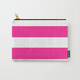 Mariniere marinière dark pink Carry-All Pouch