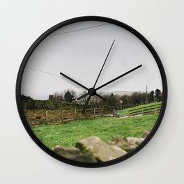Yorkshire, England Wall Clock