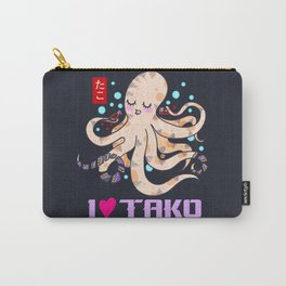 I LOVE TAKO Carry-All Pouch