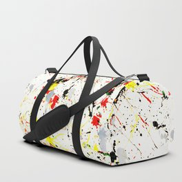 Paint Splatter Duffle Bag