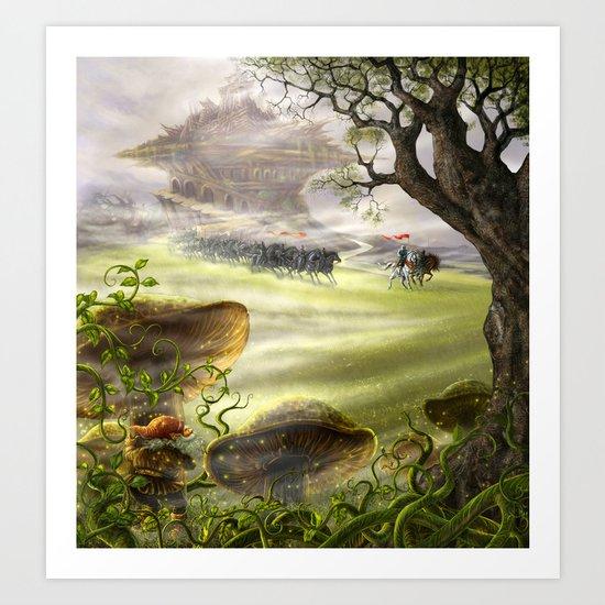 The dwarf. Art Print