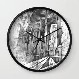 City of the Future Wall Clock