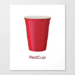 Red Cup Canvas Print