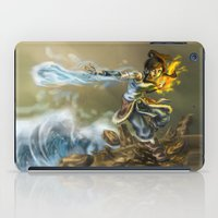 the legend of korra iPad Cases featuring Avatar The legend Of Korra by Sara Saeed