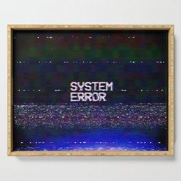 System Error Serving Tray