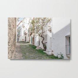Greenery - Cadaques, Catalunya Metal Print