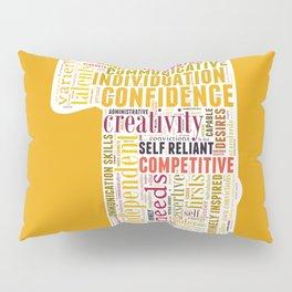 Life Path 1 (color background) Pillow Sham