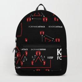Kali/Eskrima Footwork Backpack