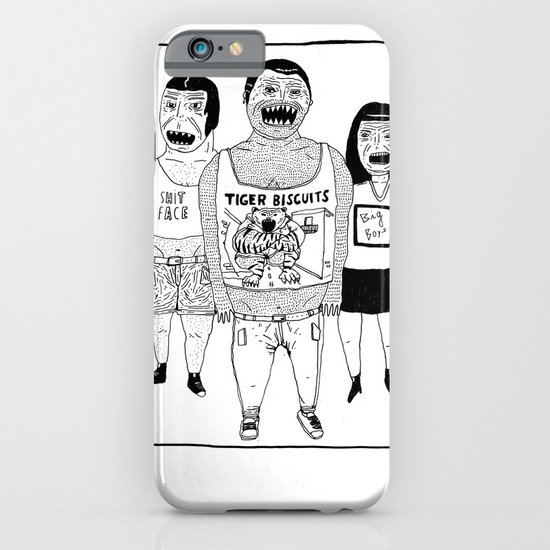 BACK OFF iPhone & iPod Case