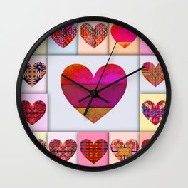 The one and Only Love! Wall Clock