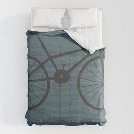 Grey Bike by Friztin Comforters