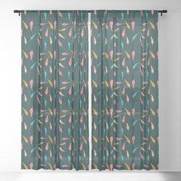 Cute hippie Sheer Curtain