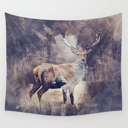 King of the Woods Wall Tapestry