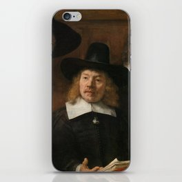 The Syndics of the Amsterdam Drapers' Guild iPhone Skin