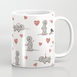 Broken hearted Voodoo Dolls Coffee Mug