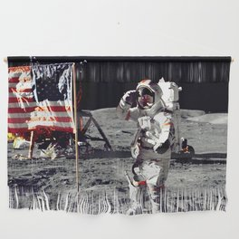 Salute on the Moon Wall Hanging