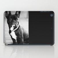 french bulldog iPad Cases featuring French Bulldog by Falko Follert Art-FF77