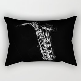 Baritone Saxophone Rectangular Pillow