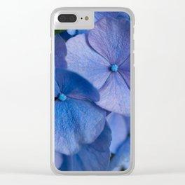 Blue Hydrangeas #2 # #art #society6 Clear iPhone Case