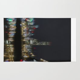 Glow of the City Rug
