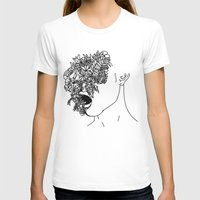 anxiety T-shirts featuring Anxiety by Jacquelyn Anthony