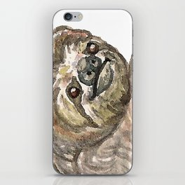 Sloth with Bunting #2 iPhone Skin