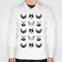 loll3 Hoodies featuring Witchy Kittens by lOll3