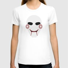SAW Womens Fitted Tee White SMALL