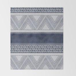 Dutch Wax Tribal Print Throw Blanket