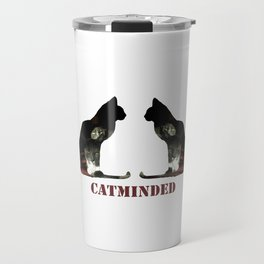 Cat minded Travel Mug