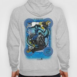 "Ars Tarot of the 12 Zodiac: ""Cancer - The Chariot"" Hoody"