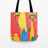 megaman Tote Bags featuring Megaman by Rocovich