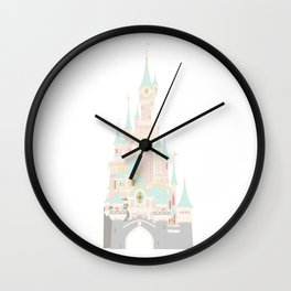 Castle 4 Wall Clock