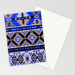 Boho Navajo Geometric Pattern Var. 2 Stationery Cards