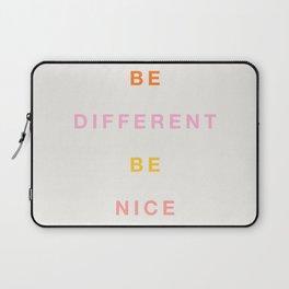 Be Nice! Laptop Sleeve