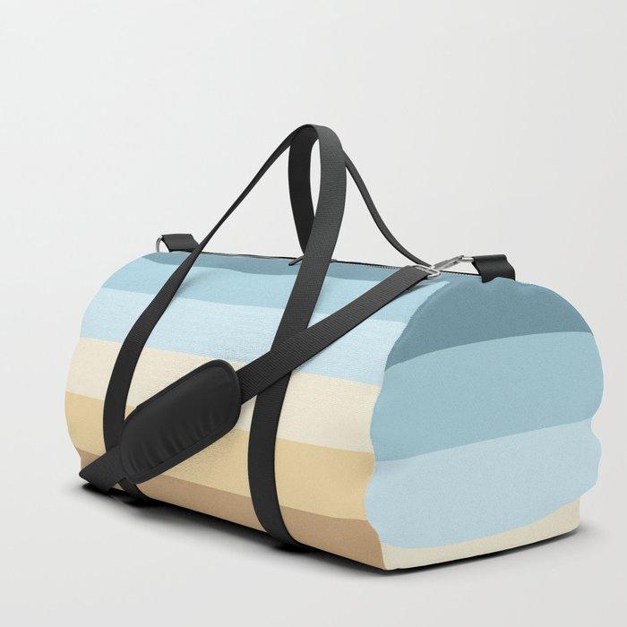 striped pattern Duffle Bag