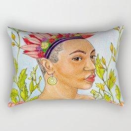 Portrait of Queen Calafia Rectangular Pillow