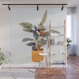 Botany || #illustration #painting #nature Wall Mural
