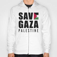 Save Gaza Quote Hoody