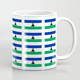 flag of lesotho -maseru,basotho,mosotho,sotho,caledon,sesotho,mokorotlo Coffee Mug