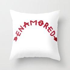 Enamored Throw Pillow