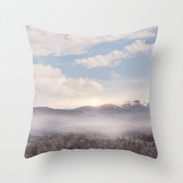 Sunrise v3 Throw Pillow