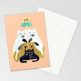 Let's get together Stationery Cards