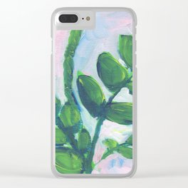 ZZ Plant Clear iPhone Case