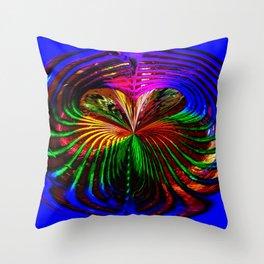 """""""Loves Rainbow"""" Throw Pillow"""