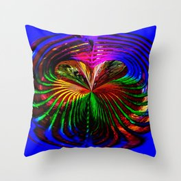 """Loves Rainbow"" Throw Pillow"