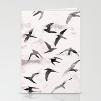 flight Stationery Cards featuring Flight by Georgiana Paraschiv