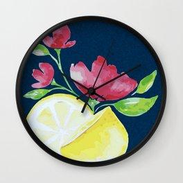 When Life Gives You Lemons... Wall Clock