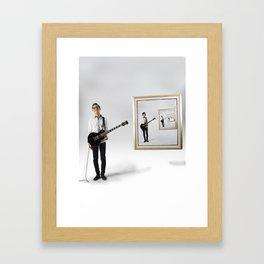 A Cultural Collision Framed Art Print