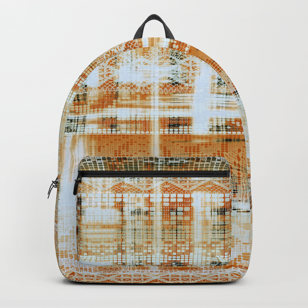 Needlepoint Sampler In Sunny Rays Backpack by Mpzstudio BKP8871869